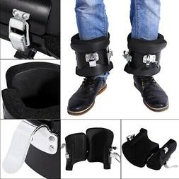 Inversion Boots Ankle Holders 1 Pair Sit Up Hooks Bar Therap