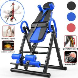 180°Home Folding Inversion Table Fitness Chiropractic Thera