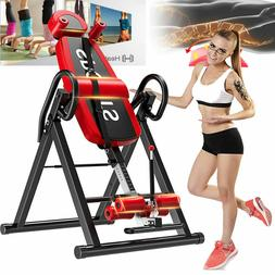 2020 Foldable Premium Gravity Inversion Table Back Therapy F