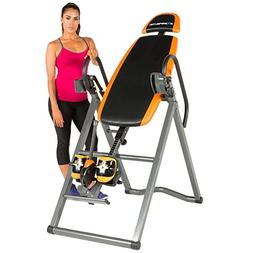 Exerpeutic 475SL Inversion Table with AIRSOFT No Pinch Ankle