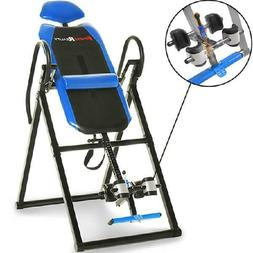 Fitness Triple Safety Locking Inversion Table with Lumbar Pi