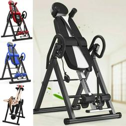 Foldable Premium Gravity Inversion Table Back Therapy Fitnes