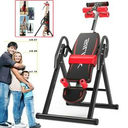 Adjustable Inversion Table Back Pain 300lbs Capacity Locking