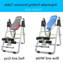Adjustable Inversion Therapy Table Heavy Duty Folding Protec