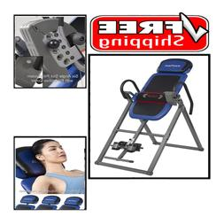 Advanced Heat and Massage Therapeutic Inversion Table 300 lb