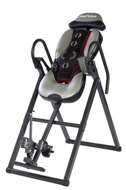 Advanced Heat Massage Inversion Therapy Table Fitness Back P