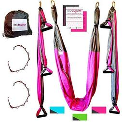 Aerial Yoga Sling - Dip Stands Ultra Strong Antigravity Yoga
