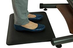 Teeter 3/4 Inch Anti-Fatigue Standing Desk Comfort Mat - Bac
