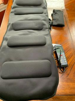 Teeter Better Back Vibration Massage Cushion with Neck Suppo