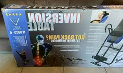 Body Vision IT9825 Premium Inversion Table New in box