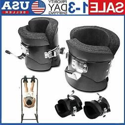 Fitness 1 Pair Anti Gravity Inversion Boots Therapy Spine Ab