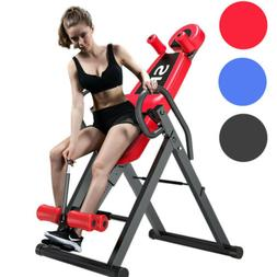 Fitness Deluxe Inversion Table Therapy Table Back Pain Relie