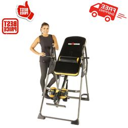 fitness inversion gravity table back pain therapy