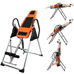 Fitness Inversion Table Deluxe Exercise Chiropractic Gravity