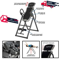 Fitness Inversion Therapy Table Durable Heavy Duty W/ Adjust