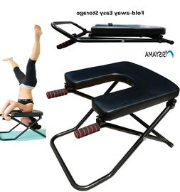Longer + Wider + Bigger Feet Up Trainer Yoga Chair INVERSION
