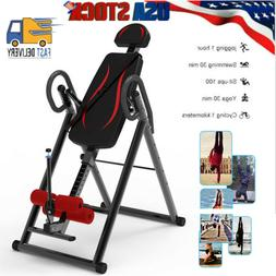 Foldable 2020 Premium Gravity Inversion Table Back Therapy F