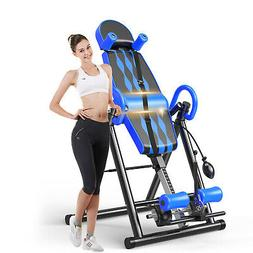 Foldable Inversion Table Premium Gravity Back Therapy Fitnes
