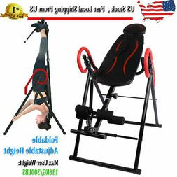 Foldable Inversion Table Therapy Gravity Back Neck Exercise