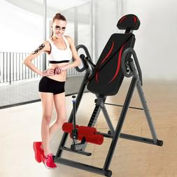 foldable inversion table therapy gravity back neck