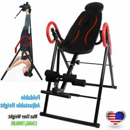 Folding Inversion Table Therapy Gravity Back Neck Exercise B