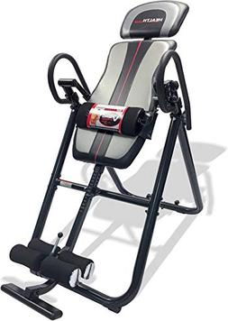 Health Gear Deluxe Inversion Table with Adjustable Heat and