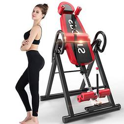 Bigzzia Gravity Heavy Duty Inversion Table with Headrest & A