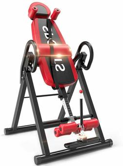 Gravity Heavy Duty Inversion Table with Headrest & Adjustabl