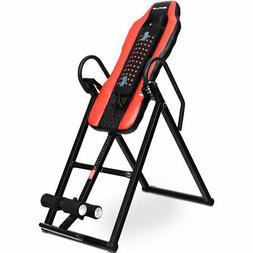 Heat & Massage Therapeutic Inversion Table Health Foam Backr