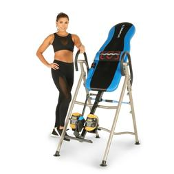 Heat and Massage Therapy Inversion Table with Airsoft No Pin