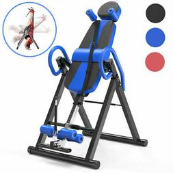 Heavy Duty Adjustable Inversion Table Back Pain Relief Thera