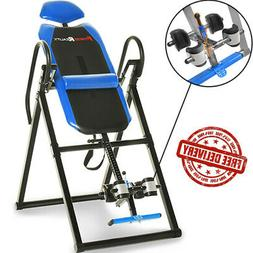Heavy Duty Inversion Table Fitness Safety Lock Back Therapy
