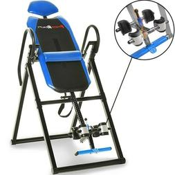 Heavy Duty Inversion Table For Back Pain Relief Therapy Fold