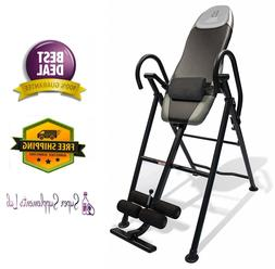 HEAVY DUTY INVERSION TABLE for Back Pain w/ Adjustable Head