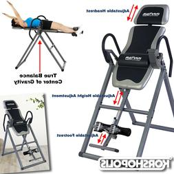 heavy duty inversion table new itx9650 adjustable