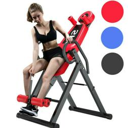 Heavy Duty Inversion Table Pain Relief Back Therapy Headrest