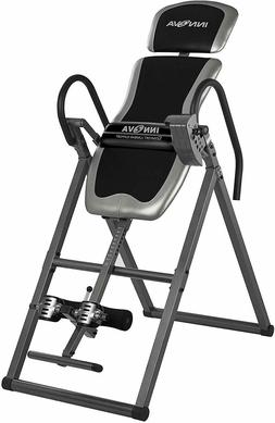 Heavy Duty Inversion Table with Adjustable Headrest and Prot