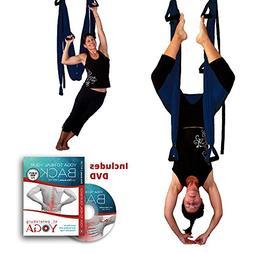 Inversion Sling - Yoga Swing  + Yoga Back DVD