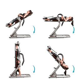 HARISON Inversion Table for Back Pain with 180 Full Inversio