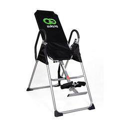 Inversion Table Deluxe Fitness Chiropractic Table Back Pain
