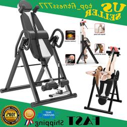 Inversion Table Fitness Chiropractic Back Stretcher Heavy Du