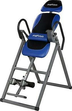 inversion table massage lumbar support adjustable headrest