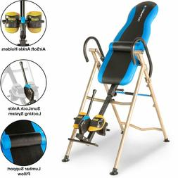 EXERPEUTIC Inversion Table w/ AIRSOFT & Ankle Holders SURELO
