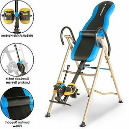 EXERPEUTIC Inversion Table with AIRSOFT NO PINCH Ankle Holde