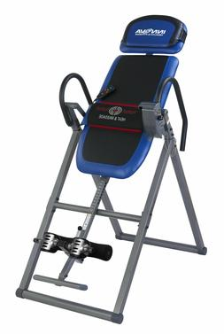 Inversion Table with Heat and Massage Therapy Adjustable Foa