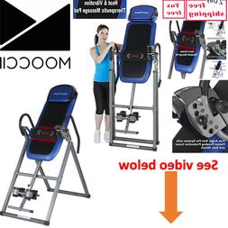 Inversion Table with Heat and Massage for Back Pain Health B