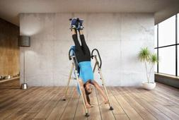 Inversion Table with Lumbar Pillow & Unique SURELOCK the Fit