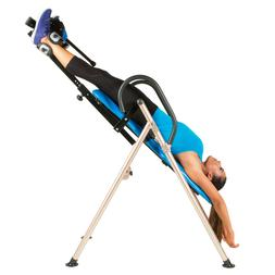Inversion Therapy Table Fitness Padded Back Rest Heavy Duty