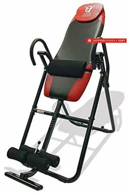Body Vision IT9825 Premium Inversion Table with Adjustable H