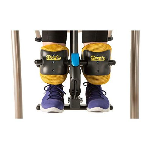 Exerpeutic with No Pinch Ankle Holders, Ratchet Support